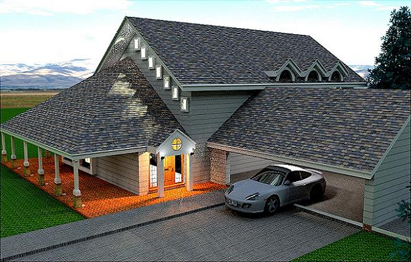 Brick House Floor Plan
