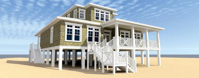 Sda architect what is a beach house for Beach house plans on stilts