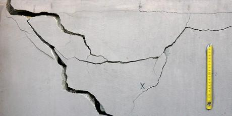 serious cracks