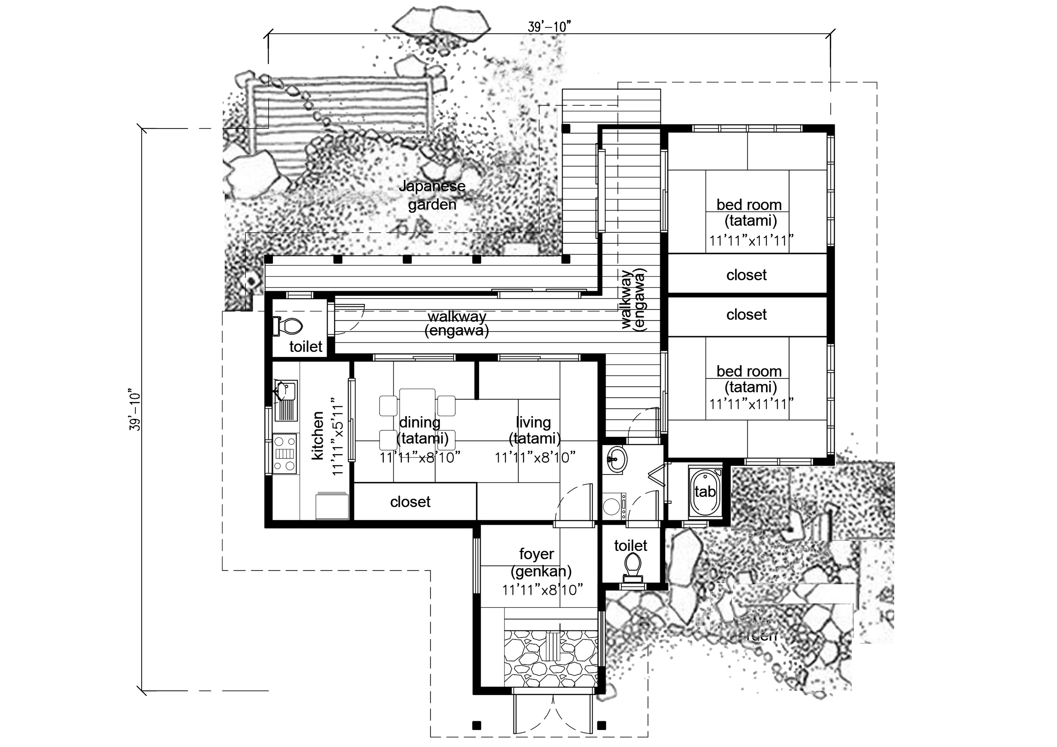 Other Images Like This! this is the related images of Japanese House Plan