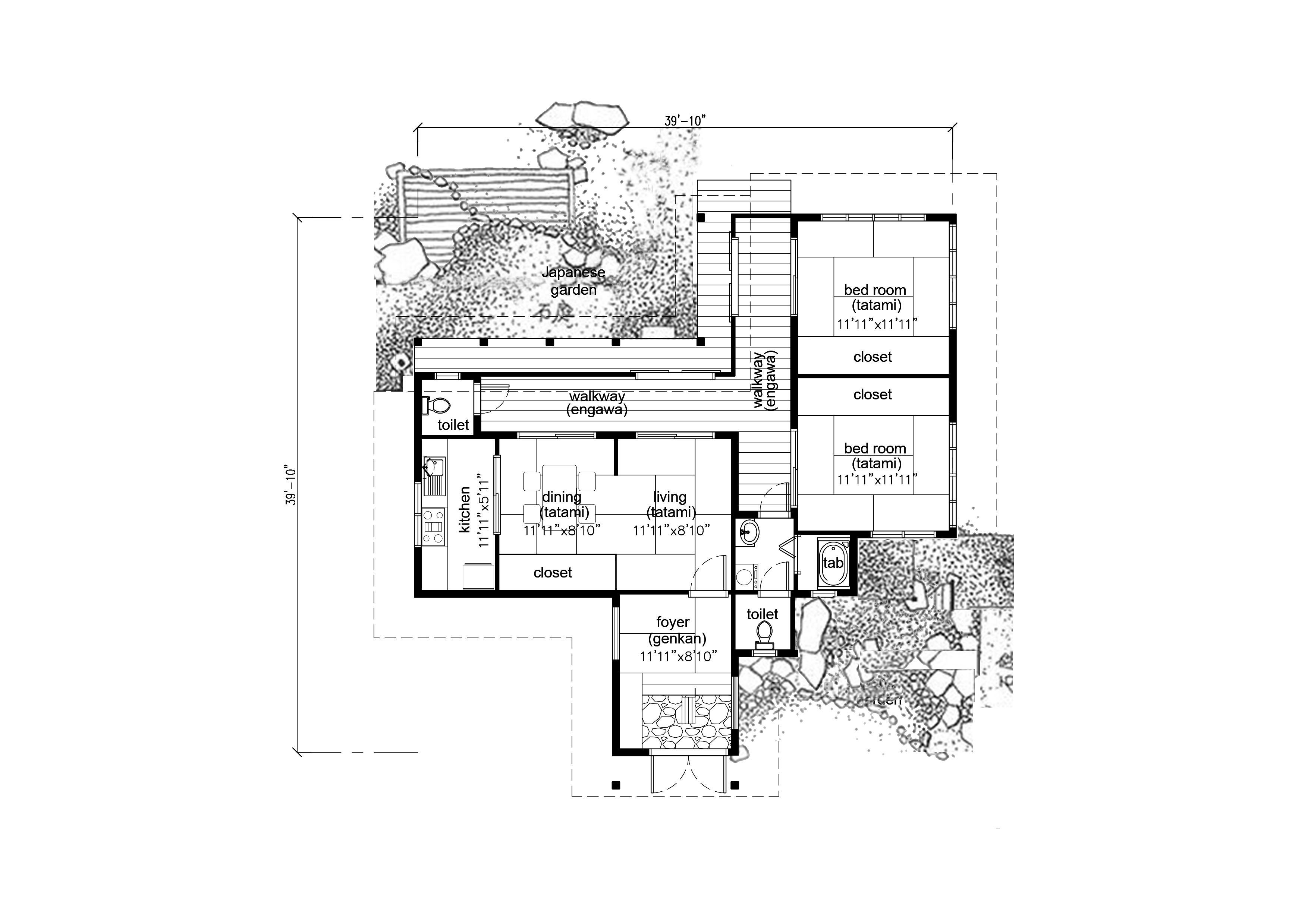 Photo Bahay Kubo Design And Floor Plan Images Bahay Kubo Designs Samal Clipgoo Modern